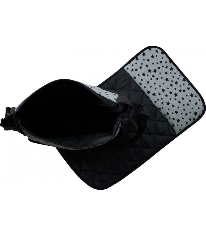 Bag and changing table Black Star