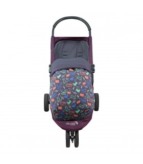 Cotton waterproof footmuff for Joolz City Mini