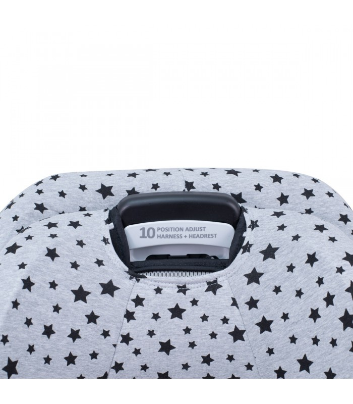 Oberes Knopflochdetail Black Star