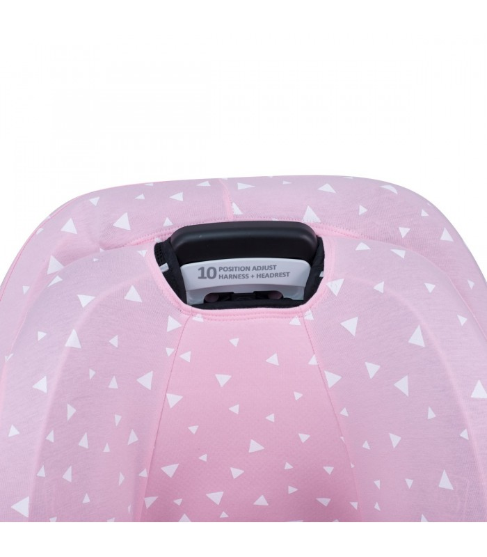 Oberes Knopflochdetail Pink Sparkles