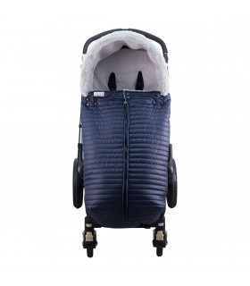 Luxury footmuff plus hood for Stroller JANABEBE