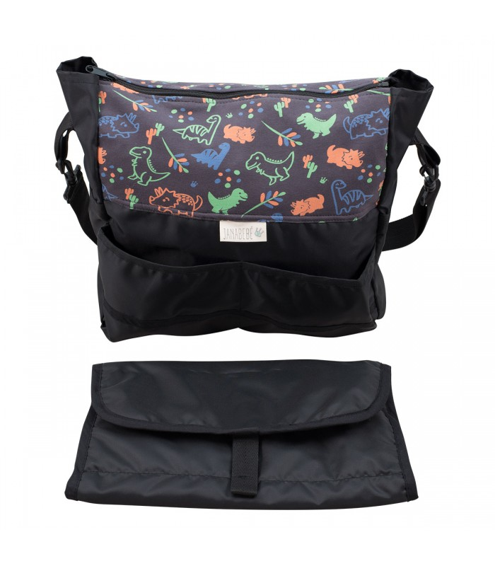 Bag and changing table Happy Dino