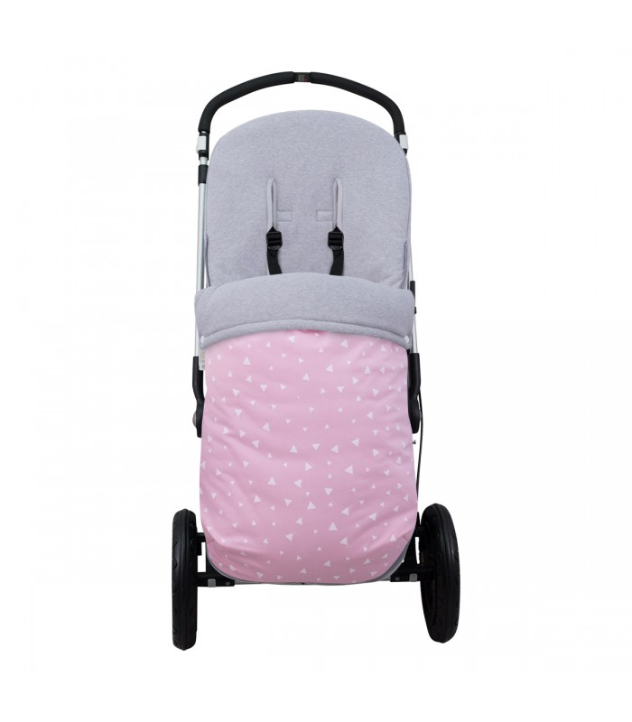 Stroller View Pink Sparkles