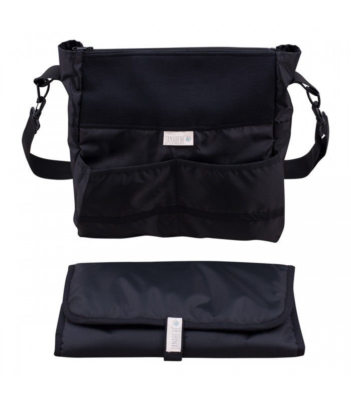 Bag and changing table Black Series