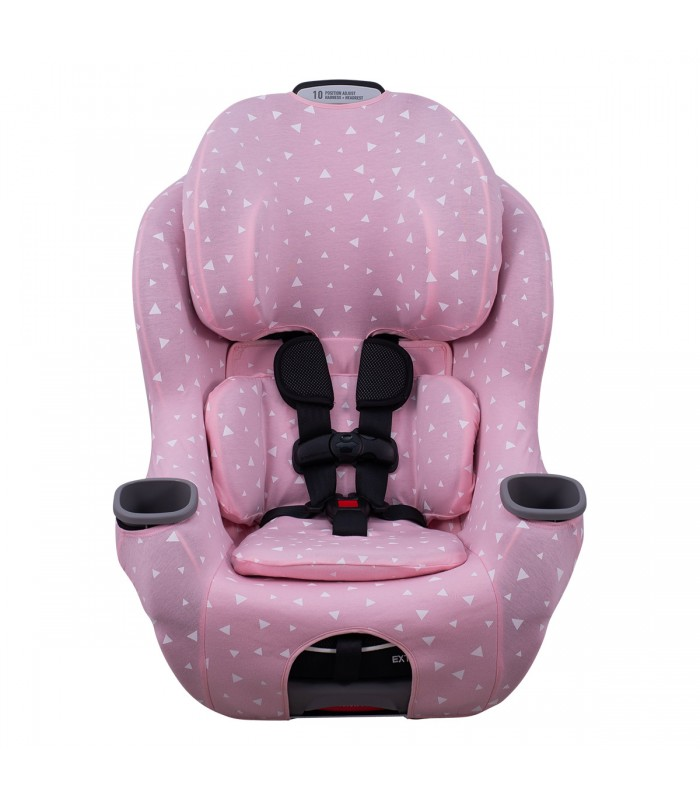 Vista frontal con reductor Pink Sparkles