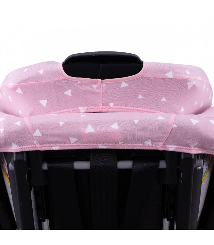 Back view Pink Sparkles