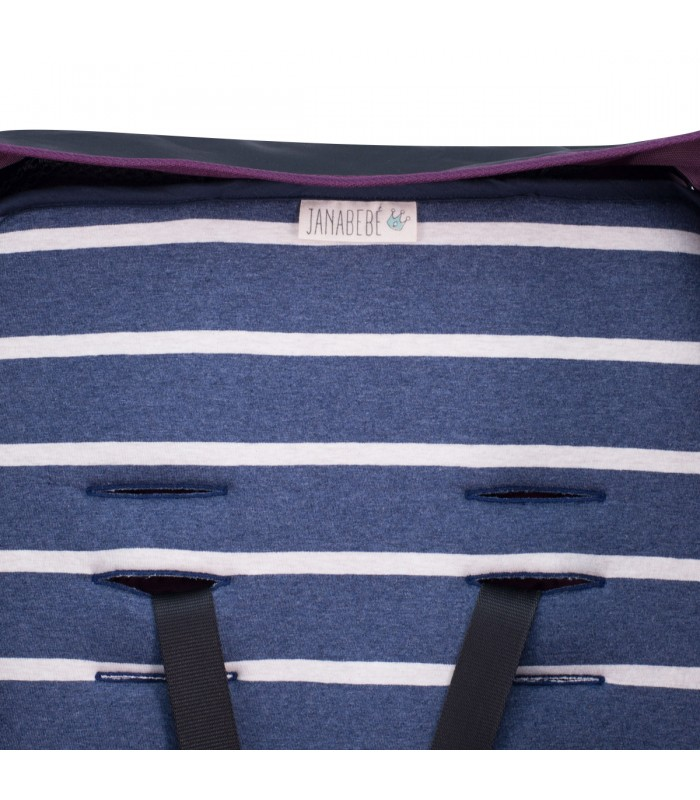 Detalle ojal superior Sailor Stripes