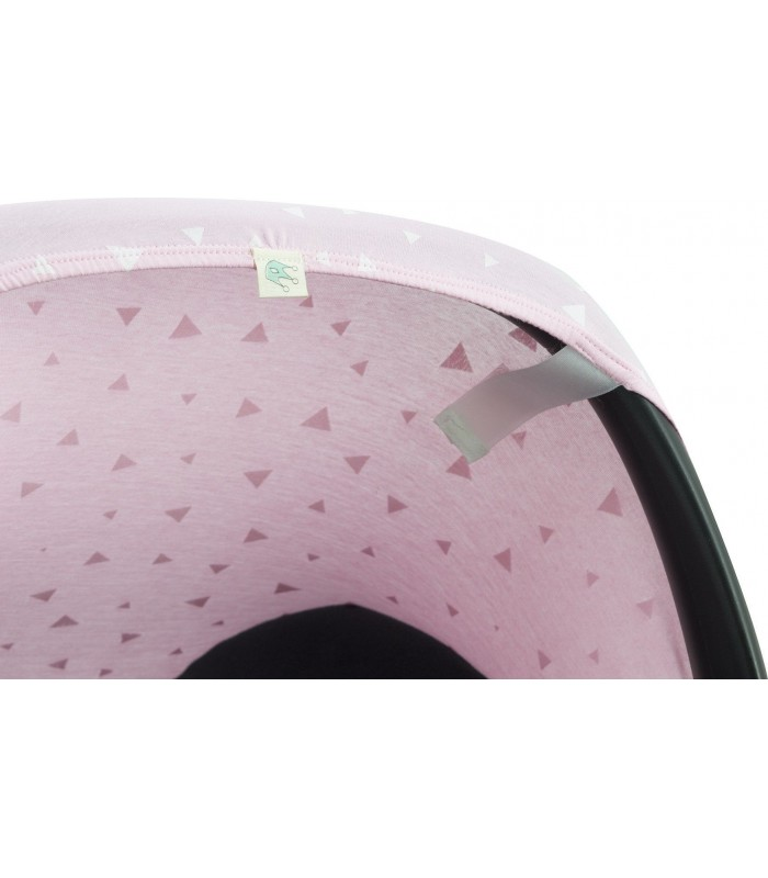 Velcro detail Pink Sparkles