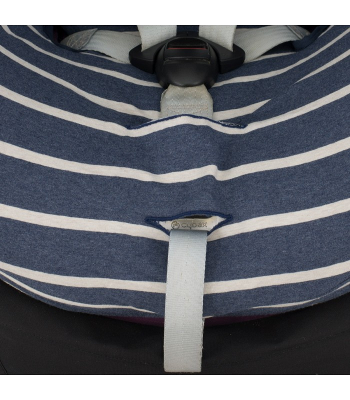 Detail unten Sailor Stripes
