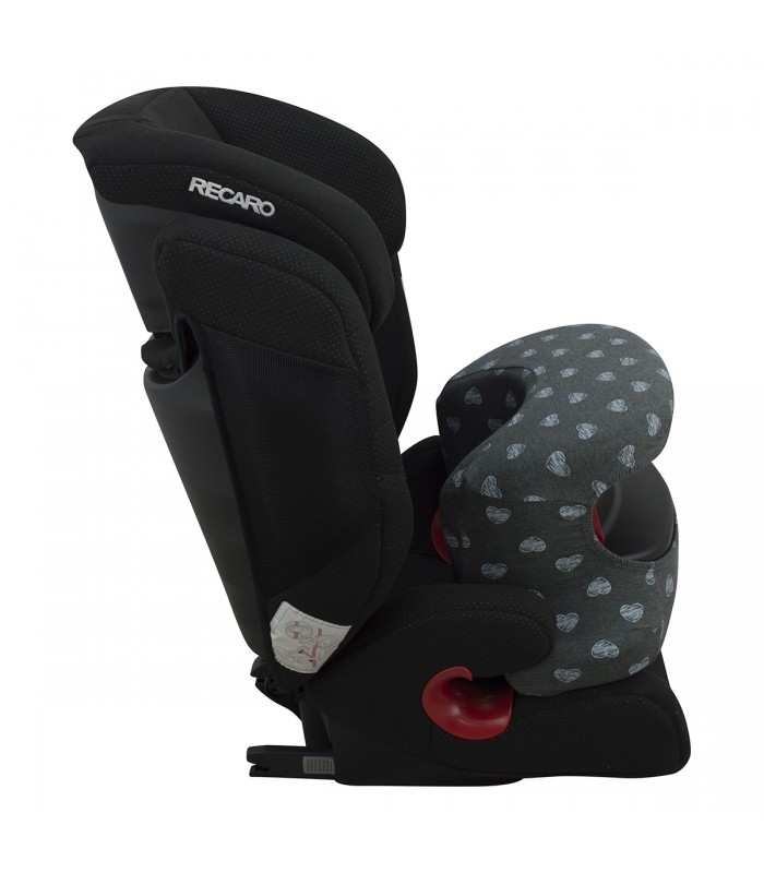 Accessory abdominal support cover for RECARO MONZA NOVA IS