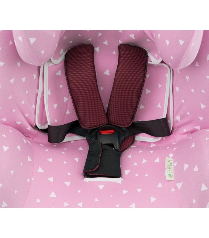 Grommet for safety straps Pink Sparkles