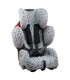 Baby Car Seat Cover With 3D Air Comfort Central Reinforcement For Recaro Young Sport Hero janabebe