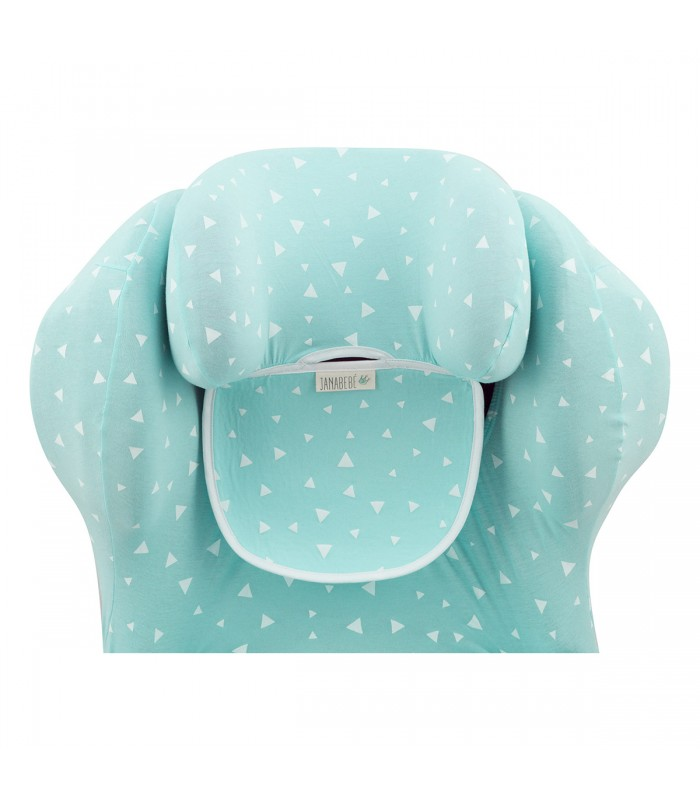 Top Detail Mint Sparkles