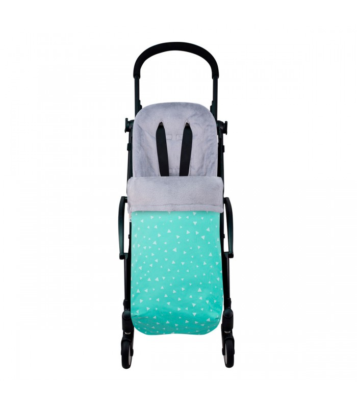 Stroller View Mint Sparkles