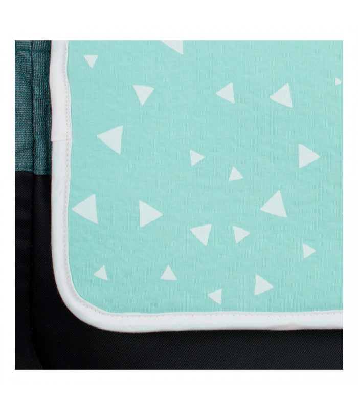 Printed detail Mint Sparkles