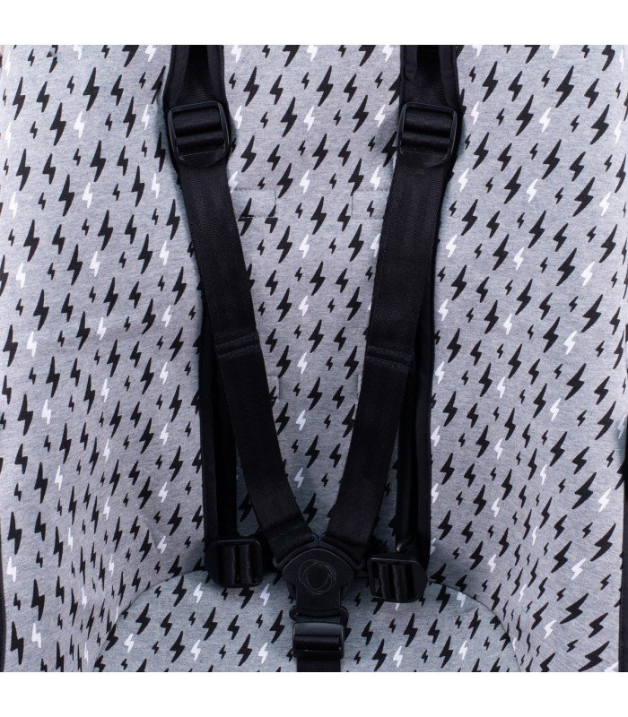 Grommet for safety straps Black Rayo