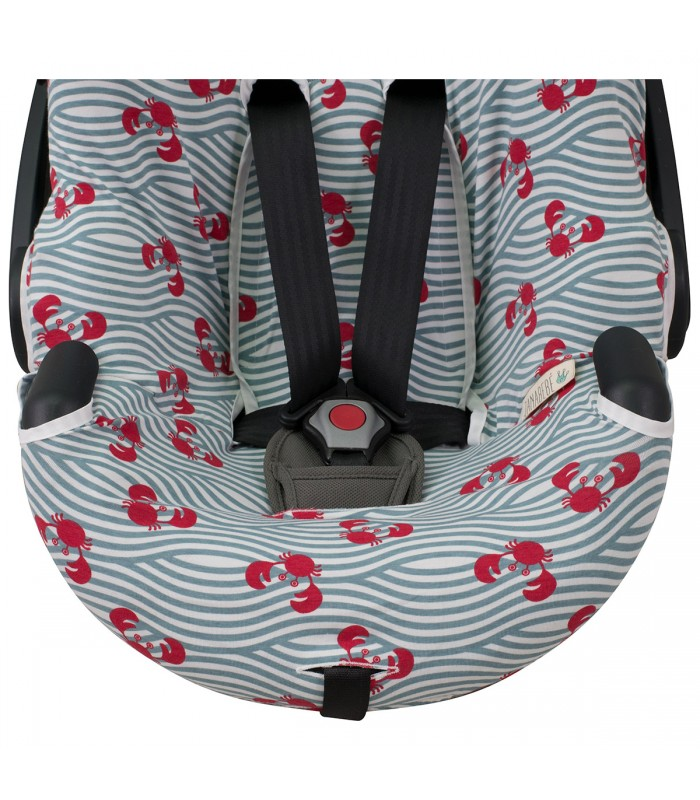 Grommet for safety straps Crabby