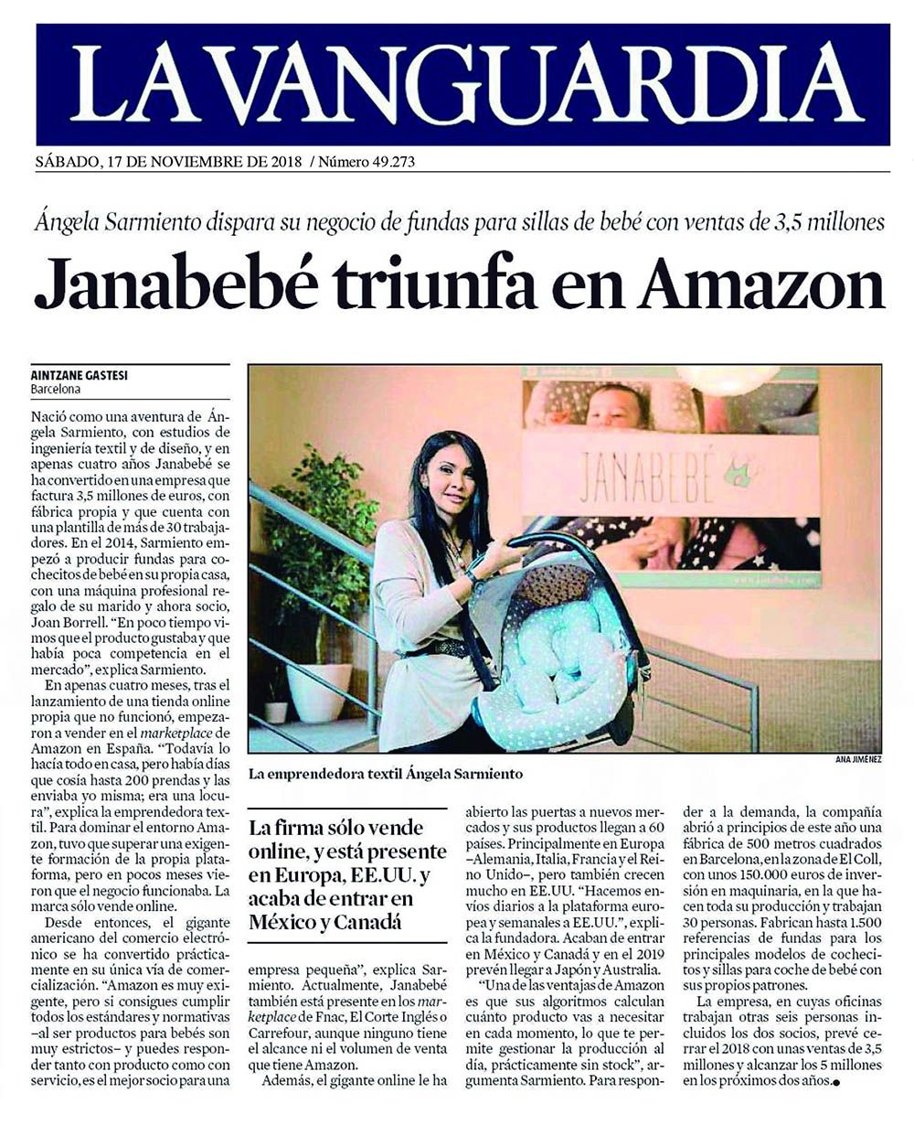 JANABEBÉ TRIUMPH IN AMAZON