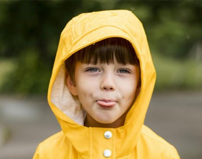 Why do children stick their tongues out when they are focused?