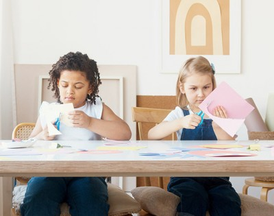What are the benefits of crafts for children?
