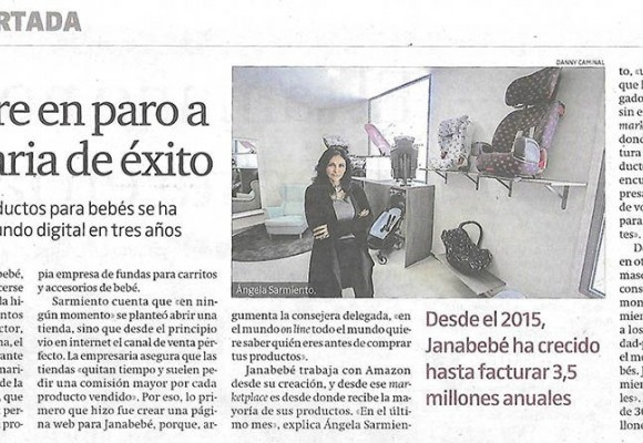 "El Periódico: ""Janabebé From unemployed mother to successful businesswoman"""