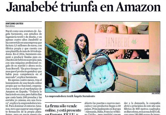 "LA VANGUARDIA: ""JANABEBÉ TRIUMPH IN AMAZON"""